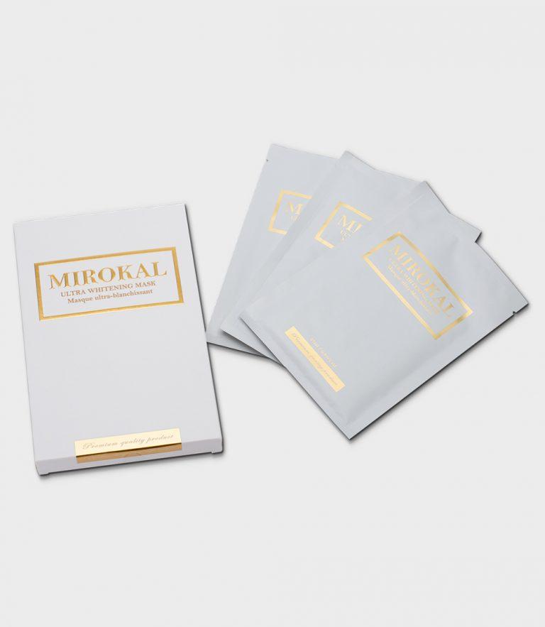MIROKAL ULTRA WHITENING MASK BOX